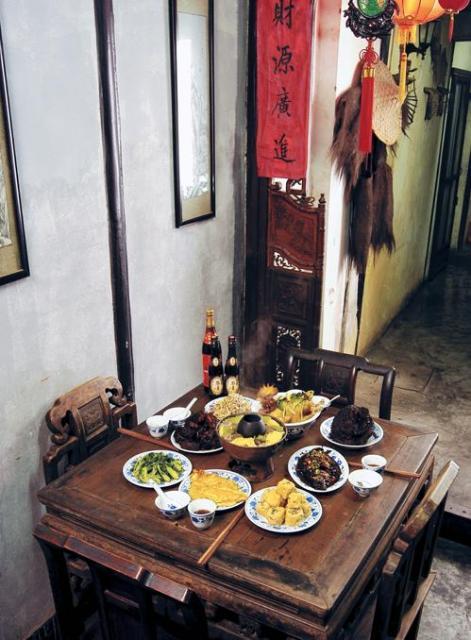 伝統の食事