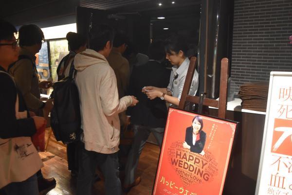 多くの観客が訪れた吉岡里帆さんの初主演映画「ハッピーウエディング」