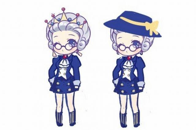 「英国報姉」のイメージキャラクター