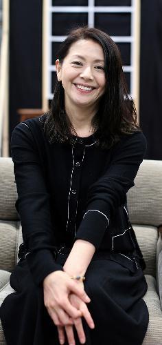 小泉今日子さん=2016年2月24日撮影
