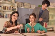ドラマ「地味にスゴイ!校閲ガール・河野悦子」。23日放送の8話で悦子が取り組むのは恋愛小説。情熱的な恋愛小説家・桜川葵(伊藤かずえさん)の作品を校閲します。情熱的な葵と、負けじと全力で校閲する悦子は、次第に意気投合していきますが……=日本テレビ提供