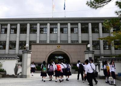 奈良県立郡山(こおりやま)高校、通称は「郡高(ぐんこう)」
