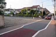 認可保育所ができる予定だった場所。道路が狭くて危険などとして近隣住民が反対していた=武蔵野市