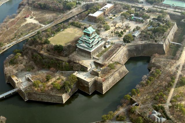 大阪城の本丸