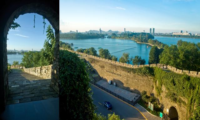 台城と玄武湖