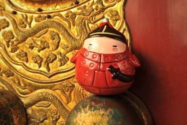 萌え萌え故宮ドール・皇帝を護衛する武士