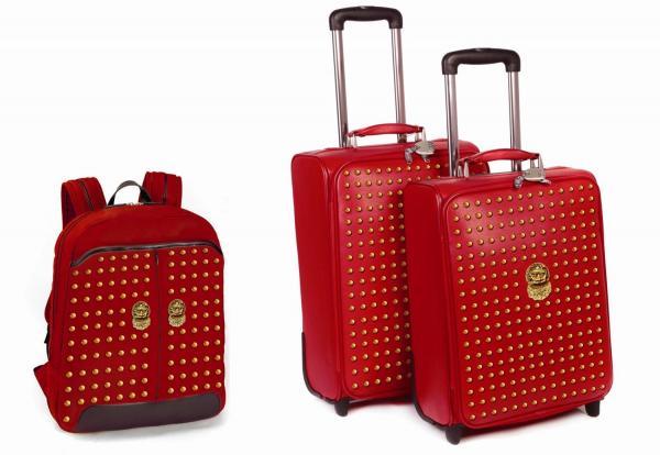故宮の門をモチーフにしたスーツケース