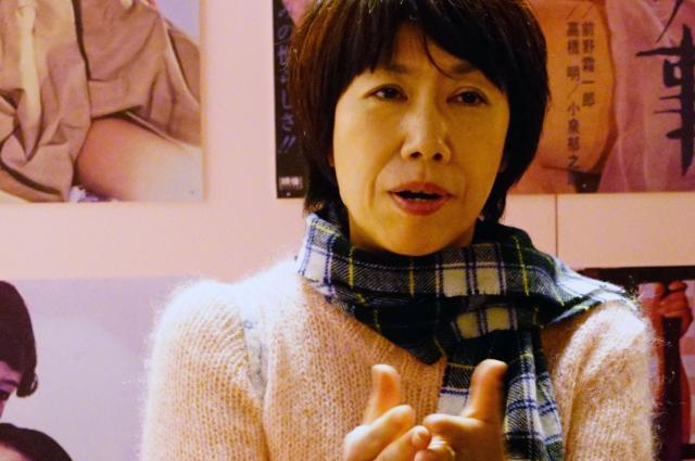 日活の企画編成部の高木希世江さん。筋金入りのロマンポルノ好き