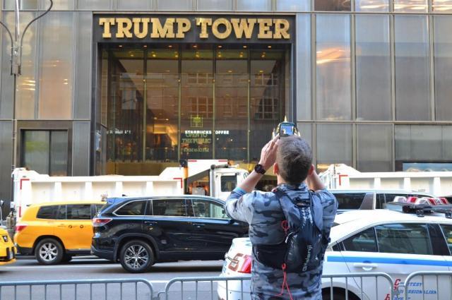 ニューヨークにあるトランプタワー