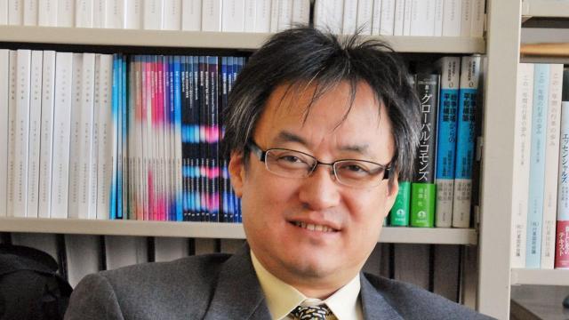 北海道大教授の遠藤乾さん。専門は欧州政治。著書に「欧州複合危機」「統合の終焉」など