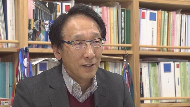 東北大学災害科学国際研究所の今村文彦教授=KHB東日本放送