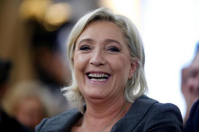 フランス国民戦線の党首がマリーヌ・ルペン氏=ロイター