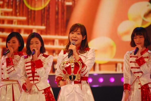 AKB48として出場の、指原莉乃さん