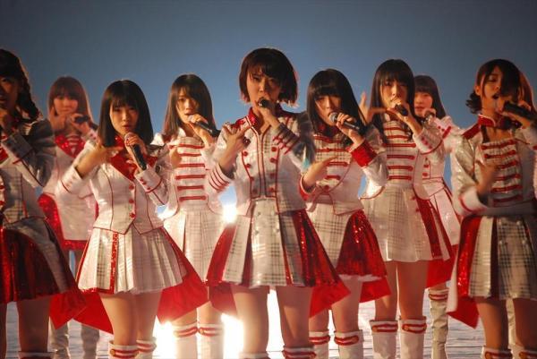 AKB48として出場の、松井玲奈さん