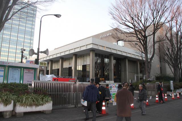 紅白の会場、NHKホール