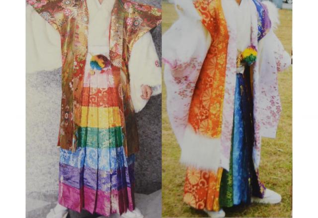 池田雅店長がムリだと思ったという「虹キング」(左)とそこから派生した「2代目虹キング」
