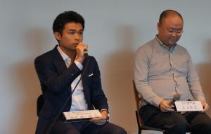 勉強会にパネリストとしても参加したメドレーの豊田さん