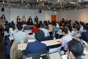 メディカルジャーナリズム勉強会には150人の参加者が集まった