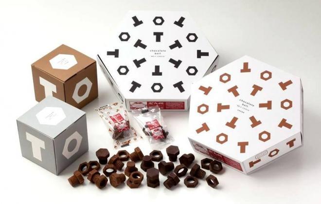 チョコとココアの2つの味があり、それぞれ単品・5個入り・15個入りがある