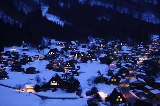Contikiおすすめの飛驒の里の風景