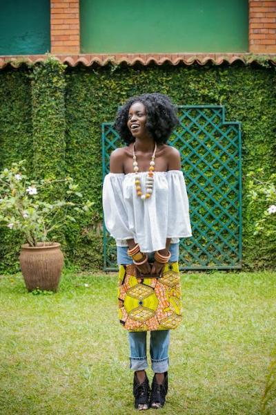 RICCI EVERYDAYが作った、ウガンダのアフリカ布バッグ