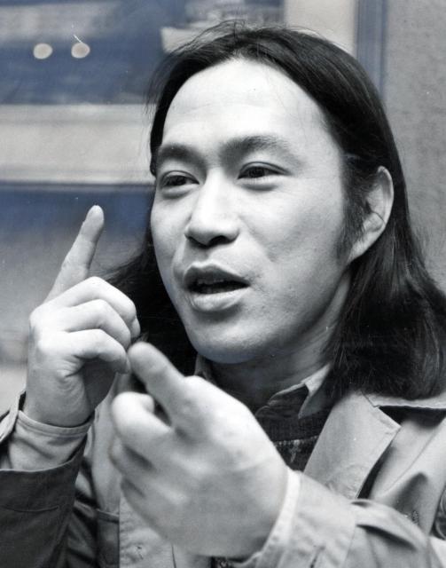 「3年B組金八先生」で主人公を演じた武田鉄矢さん