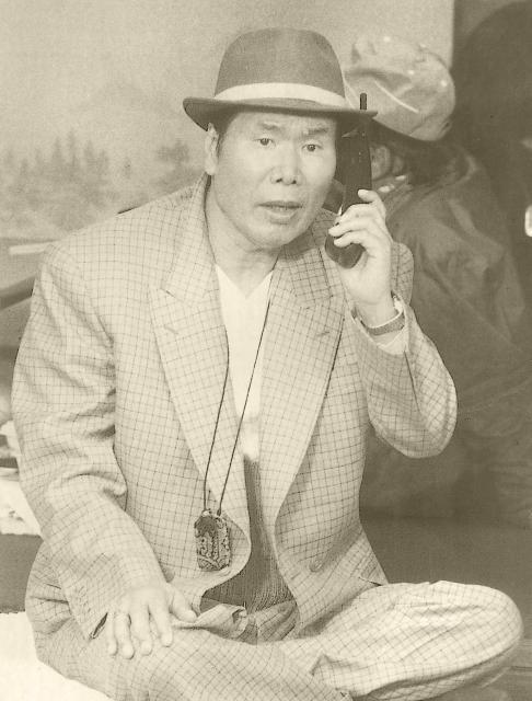 「男はつらいよ」の収録風景(1995年)。渥美清さん演じる主人公・車寅次郎は「フーテンの寅さん」と呼ばれていた