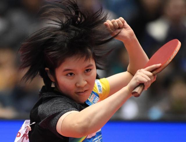 1月の全日本選手権を制した平野美宇選手