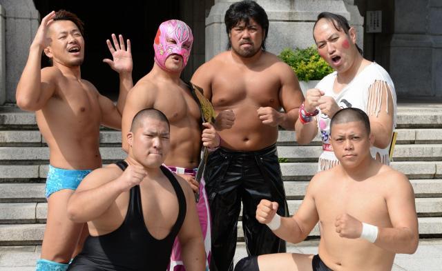 九州プロレスの選手たち
