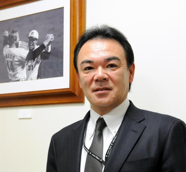 和田豊さん。現在は球団オーナー付シニアアドバイザーという役職に就いている=兵庫県西宮市