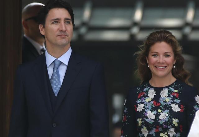 昨年の伊勢志摩サミットで来日したカナダのトルドー首相夫妻