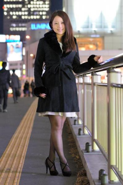 慶応大に進んだ鈴木涼美さん(下の出典から体験記をお読みいただけます)
