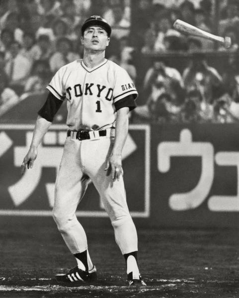 2390四球でプロ野球1位の王貞治