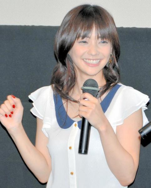 倉科カナさん=2011年6月27日