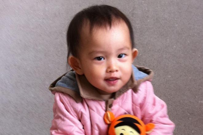 保育施設の事故で亡くなった美月ちゃん。1歳7カ月だった