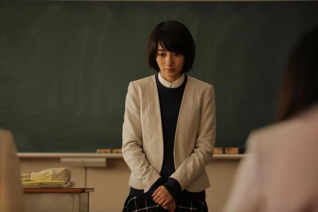 斉藤由貴さんの娘を演じる波瑠さん=NHK提供