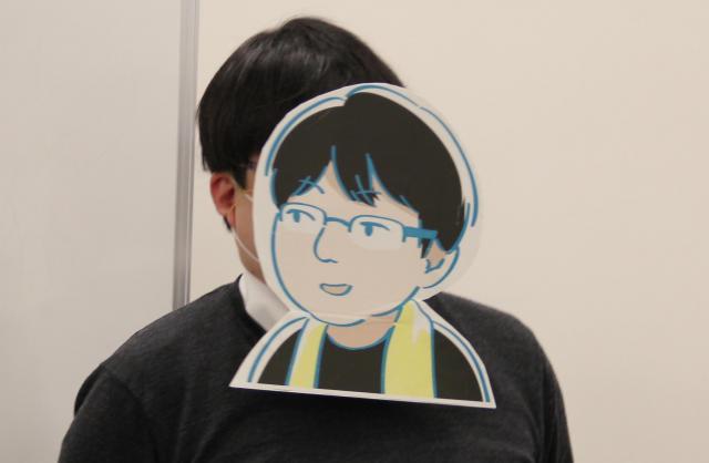 阪本輝昭記者(イラストで失礼します)