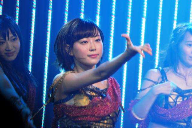 卒業公演での渡辺美優紀さん