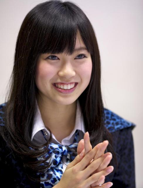 デビュー間もないころの渡辺美優紀さん(2011年)