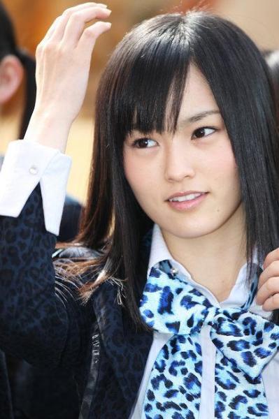 NMB48の山本彩さん(2011年)