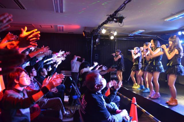 山口県のローカルアイドルのライブ