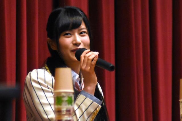 パネルディスカッションで話す田北さん