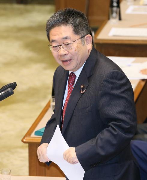 【2日】参院予算委で質問する共産党の小池晃書記局長