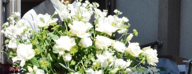 葬儀用の生花
