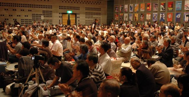 佐藤さんの父親が好きだった民謡、江差追分の全国大会