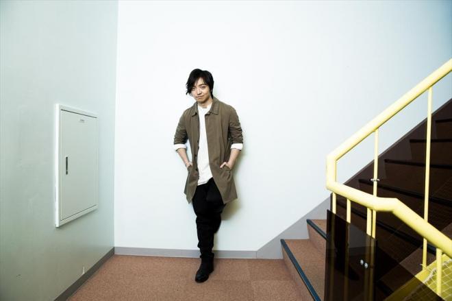 憧れだった仮面ライダーの主題歌でオリコン1位に=川田洋司撮影