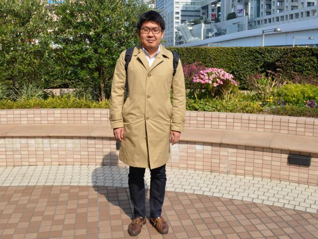 非リア代表の丹治翔記者(32)