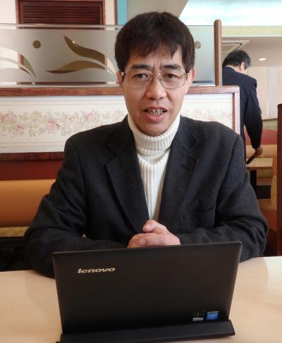 コンビニオーナーとしての経験を語る近藤菊郎さん
