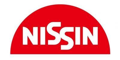 ロゴの上下を逆さにしても、ちゃんとNISSINと読むことができる
