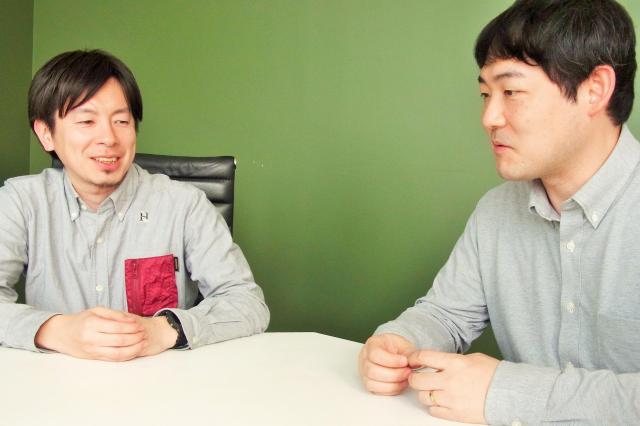 「クイキン」の思い出を語り合う武田さん(左)と後藤さん